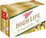 Rolling Rock, Miller High Life or Busch 18 Pack