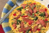 Grilled Lamb Salad Paella