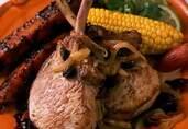 Pork Chops with California Raisins and Ancho Chiles