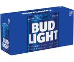 Bud Light, Labatt, Coors Light or Miller Lite 18 Pack