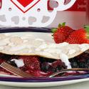 Berry-licious Breakfast Taco with Yogurt Glaze
