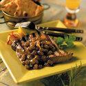 Grilled Tuna with California Golden Raisin Chutney (Muchee Kismis)