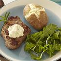 Seared Steak with Roasted Garlic Aïoli