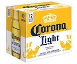 Corona Extra or Corona Light 12 Pack