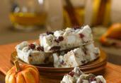 Pumpkin Pie Spice Popcorn Bark