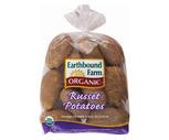 Fresh Organic Russet Potatoes 3 Lb. Bag