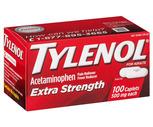 Tylenol Extra Strength 100 Ct. or Liquid Gel 90 Ct.