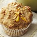 Peachy Granola Muffins