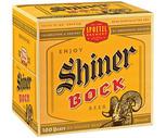 Shiner Bock or Leinenkugel's Oktoberfest 12 Pack
