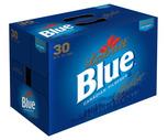 Labatt Blue or Blue Light 30 Pack