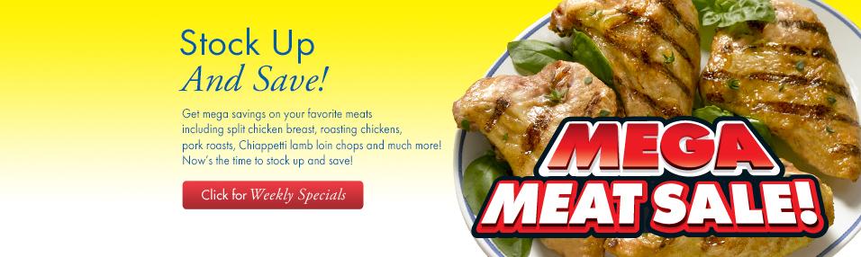 Mega Meat Sale!