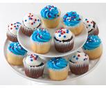 Patriotic Mini Cupcakes