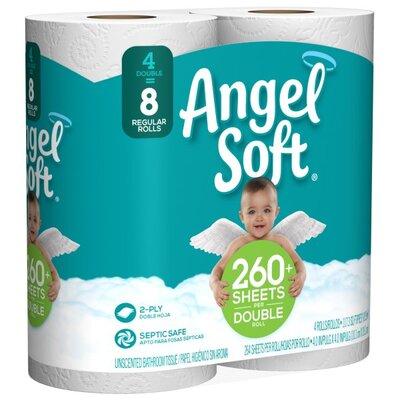 Complete Home Super Soft Toilet Paper 24 MEGA Rolls = 117 Rolls